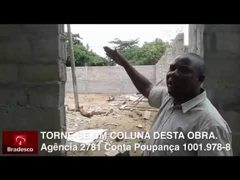 Construção do templo e lar das crianças órfãs em África