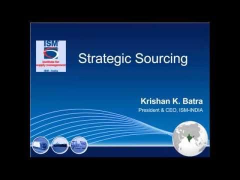 'Strategic Sourcing'
