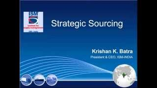 'Strategic Sourcing'