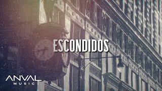Gambar cover La Adictiva - Escondidos [Lyric Video]