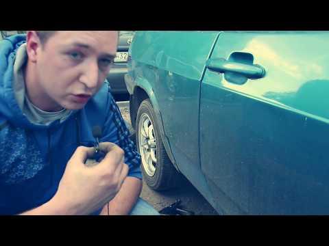 Ставим колёса R14 на литых дисках Ваз 2108. Проект восьмёрка