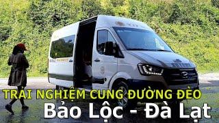 Trải nghiệm cung đường đèo Bảo Lộc - Đà Lạt cùng Xe Limousine hyundai Solati  Đà Lạt | #51