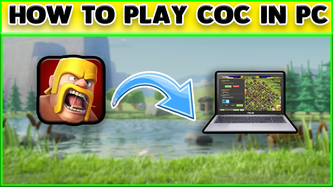 HOW TO PLAY COC IN PC || COC IN PC || NOX EMULATOR || CLASH OF CLAN || GODAPEX GAMING