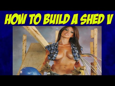 Building a Storage Shed-Modern Shed Plans-Backyard Buildings