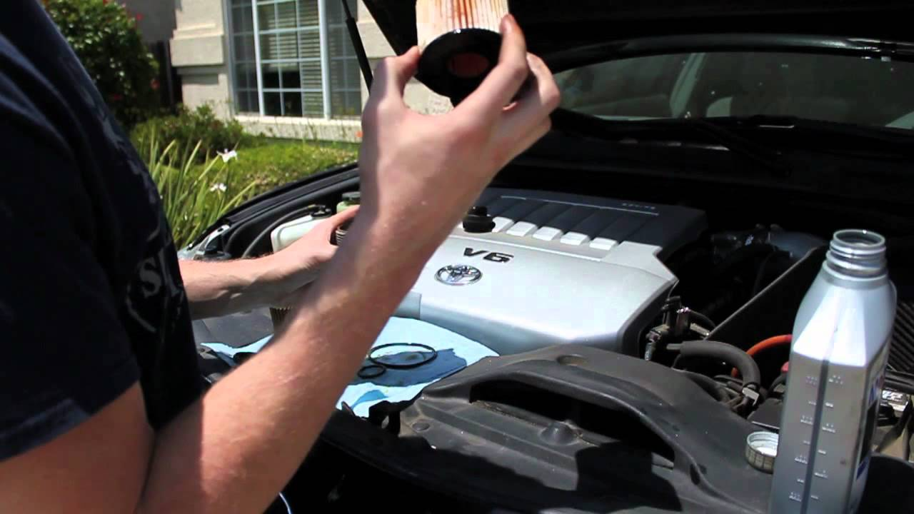 How To Change The Oil On A Sixth Generation V6 Toyota Camry