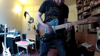 The Dillinger Escape Plan - The Threat Posed By Nuclear Weapons (Guitar Cover)