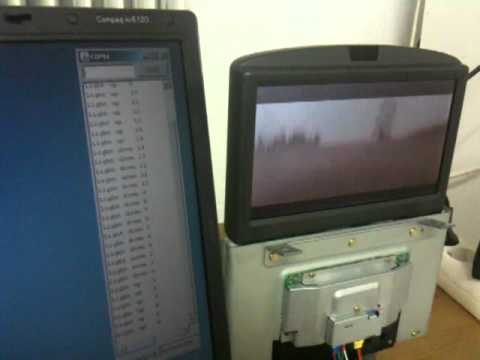 Volvo RTI screen fully controlled stand alone  YouTube