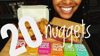 Asmr Mcdonalds Chicken Nuggets Challenge Auzsome Austin Sas Asmr Eating Sounds No Talking