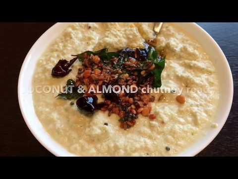 Coconut Almond Chutney