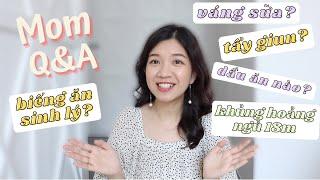 Mom Q&A: Biếng Ăn Sinh Lý? Váng Sữa? Tẩy Giun? Khủng Hoảng Ngủ 18m?//My Thuan Family