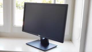 Dell 22 Monitor Review | E2216H | LED-backlit LCD monitor | Panel: TN, Removing the monitor foot