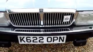 Video Review of 1992 Jaguar XJ6 4.0 Sovereign For Sale SDSC Specialist Cars Cambridge UK