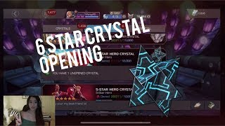 Quick 6 Star Crystal Opening! Do I Still Have the Luck? 👀| Marvel Contest of Champions