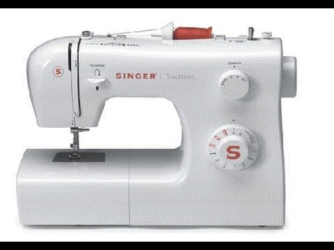 Maquina de coser SINGER TRADITION - YouTube