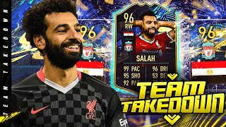 96 TOTS Mohamed Salah Team Takedown!!!