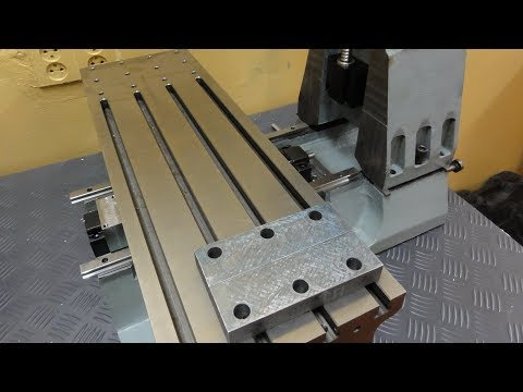 Grinding machine parts. The milling machine from cast iron part 29