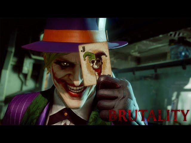 Mortal Kombat 11: The Joker's Brutalities