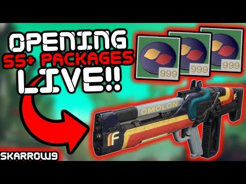 Destiny 2 - Opening OVER 55 Faction Packages Live!!!!! Come Hang Out!