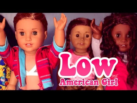 FLO RIDA - LOW American Girl Music Video (AGMV)