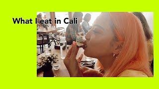 (Eng Sub) What I eat in California カリフォルニアで行ったレストラン