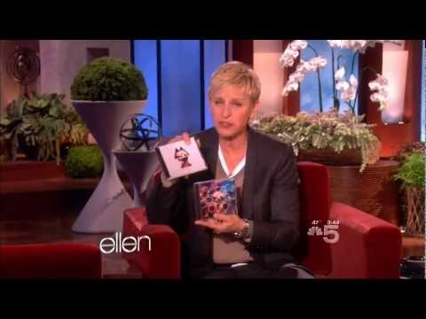 Chris Martin and Jonny Buckland on Ellen 10-27-11