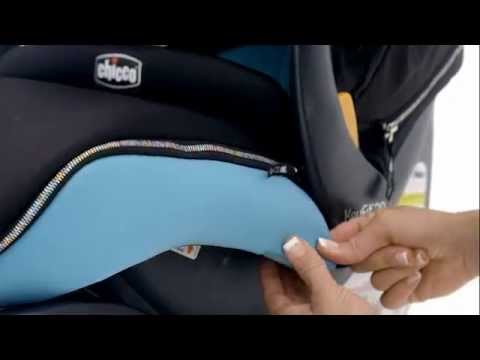 Chicco KeyFit 30 Zip Car Seat - Removing the Soft Goods - YouTube