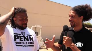 Oakland Raiders Donald Penn Interview