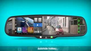 Germid Android GPS Rear View Mirror is Coming JN-043LA