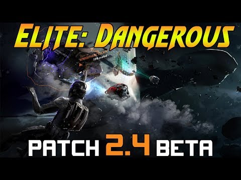 2.4 Beta - Elite Dangerous - TYPE 10 Defender - New ship leaked?
