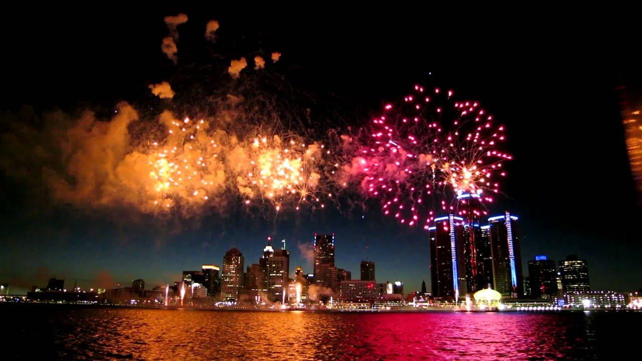 Detroit Windsor International Freedom Fireworks 2012