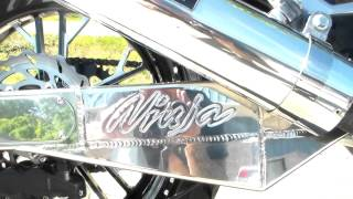 zx11  kawasaki zx 11 old school  by  allthingschrome 240  kit  old school gone wrong