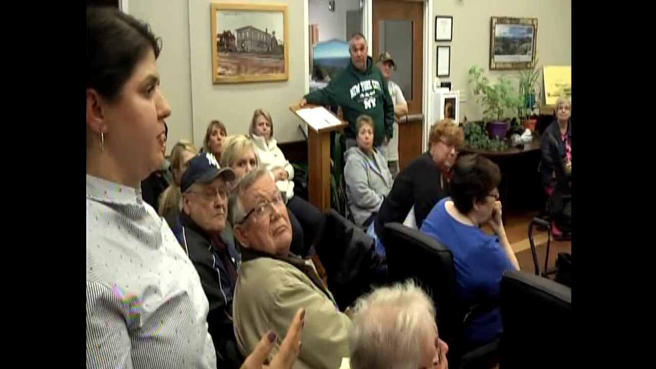 Dannemora Special Town Board Meeting  4-25-18