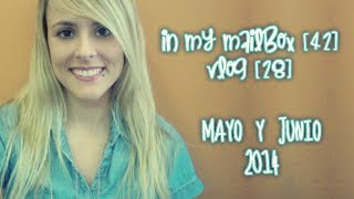 In My Mailbox [42] - Vlog [28]: Mayo y Junio de 2014! (Book-Haul)