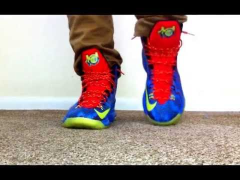 "Kd 5 Christmas On Feet KD V ""Christmas&q..."