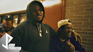 tee grizzley and snap dogg visits northwestern high school basketball game shot by jerryphd