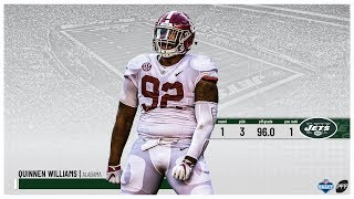 2019 NFL Draft: New York Jets select Quinnen Williams