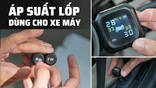 Chia sẻ: Áp suất lốp dành cho xe máy | Dễ dùng, tự tháo lắp được