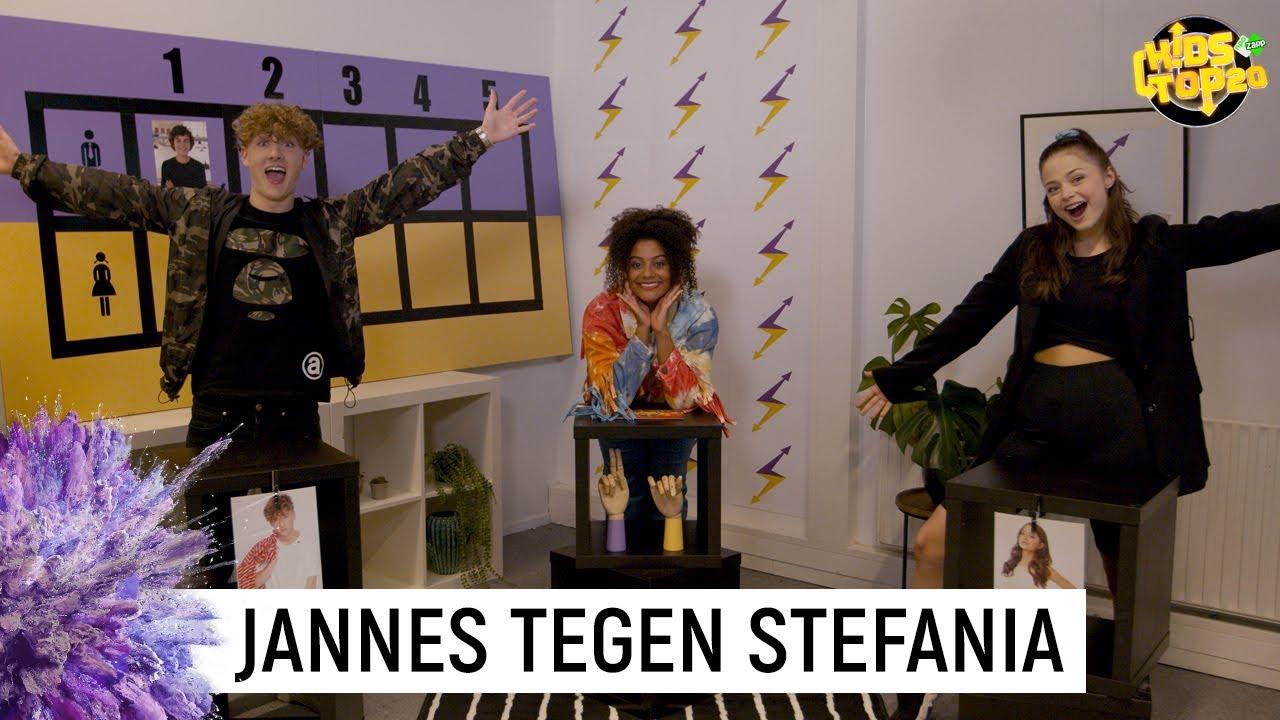 Download JANNES & STEFANIA MAKEN ELKAAR AF😂 | De Jongens Tegen De Meiden | Kids Top 20 | NPO Zapp