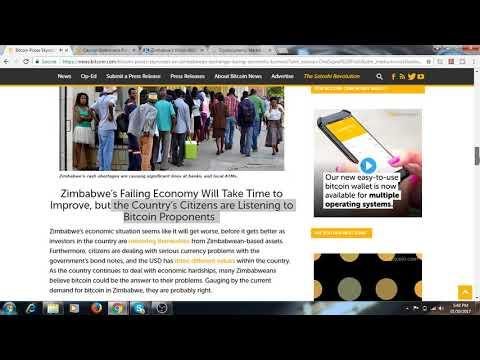 Bitcoin price skyrocket to 7000 usd in Zimbabwe/ / Failing Dollar , Bitcoin the World Saviour