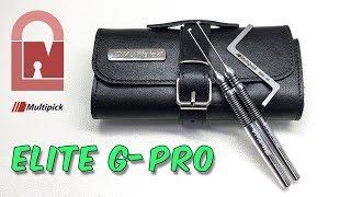 Multipick ELITE G-PRO Dimple Lock Pick Set Review