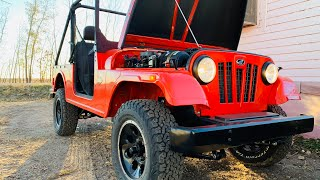 MAHINDRA ROXOR Cold Start was INSTANT on First Try