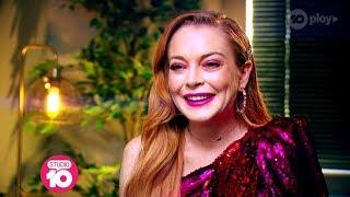 Video Exclusive: Lindsay Lohan Dishes On 'The Masked Singer' | Studio 10 download MP3, 3GP, MP4, WEBM, AVI, FLV September 2019