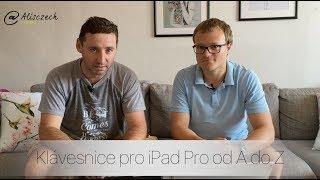 Klávesnice pro iPad Pro od A do Z (Alisczech vol. 8)