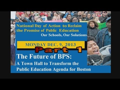 National Day of Action to Reclaim the Promise of Public Education -- PART 1