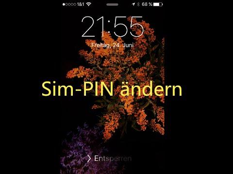 Sim Karte Entsperren Ipad.Ios Sim Pin ändern Iphone Ipad