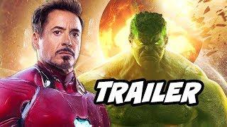 Avengers Endgame Trailer Easter Eggs - Iron Man, Captain America and Thor
