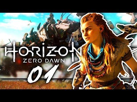 DIE PRÜFUNG! 🐲 #01 • Let's Play Horizon Zero Dawn [PS4 Pro / Deutsch]