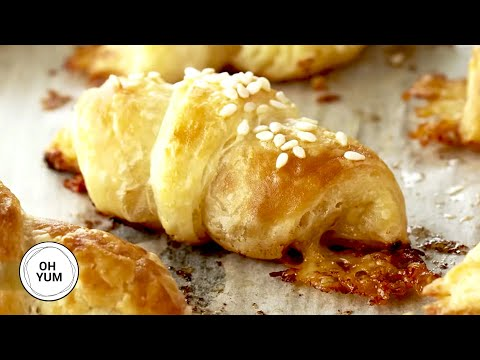 Delicious Mini Croissants - Oh Yum with Anna Olson