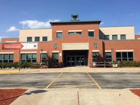 Rawson Elementary School Parking Lot Update; Sep 25, 2017