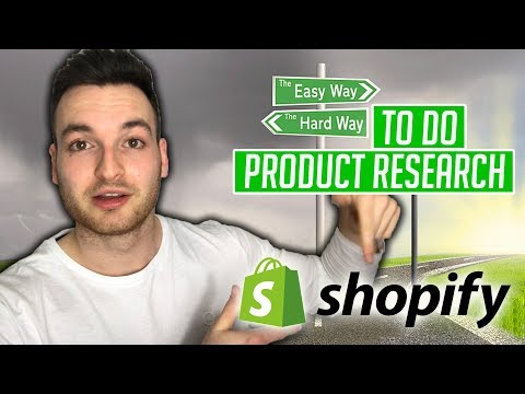 Shopify Product Research Method So Easy It Should Be Illegal | How to Do Product Research 2019 thumbnail